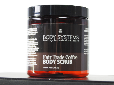 Body Systems Fair Trade Coffee Body Scrub