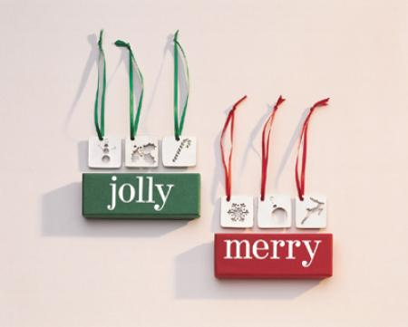 Jolly Ornaments