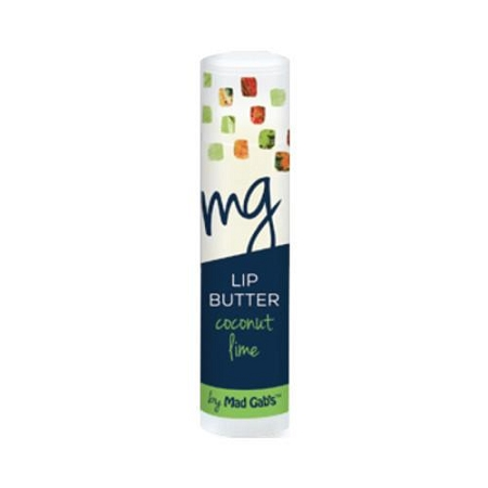 Mad Gabs Organic Lip Butter in Coconut Lime