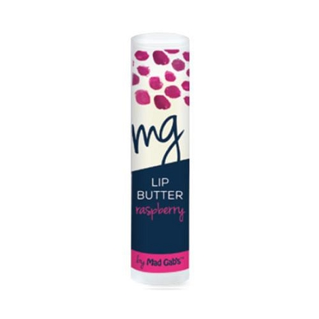 Mad Gabs Organic Lip Butter in Raspberry