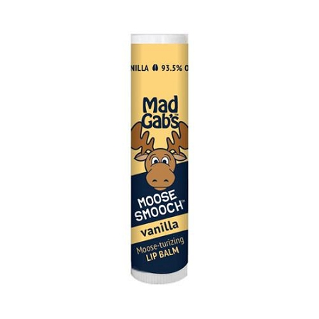 Mad Gabs Moose Smooch Lip Balm in Vanilla