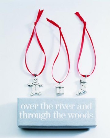 Over the River...Ornaments