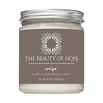 Beauty of Hope Crisp Candle 8oz
