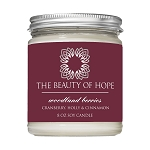 Beauty of Hope Woodland Berries Candle 8oz