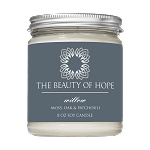 Beauty of Hope Willow Candle 8oz